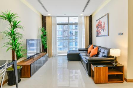 Căn hộ Vinhomes Central Park 2 phòng ngủ tầng trung P5 view sông