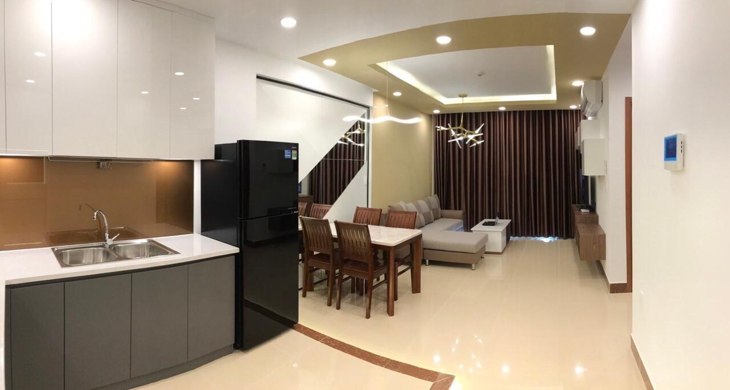 3 Bán căn hộ The Gold View 2PN, tầng trung, đầy đủ nội thất, hướng cửa Tây Nam