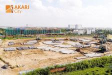 Cập nhật tiến độ xây dựng dự án Akari City Bình Tân tháng 9/2019