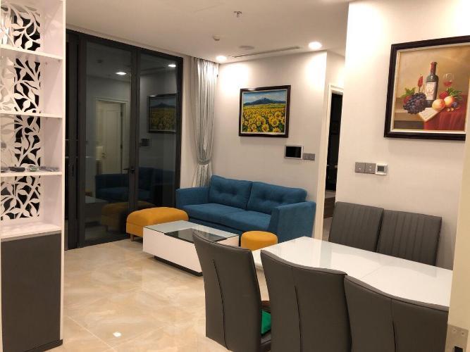 Bán hoặc cho thuê căn hộ Vinhomes Golden River 2PN, tháp The Aqua 3, đầy đủ nội thất, view thành phố