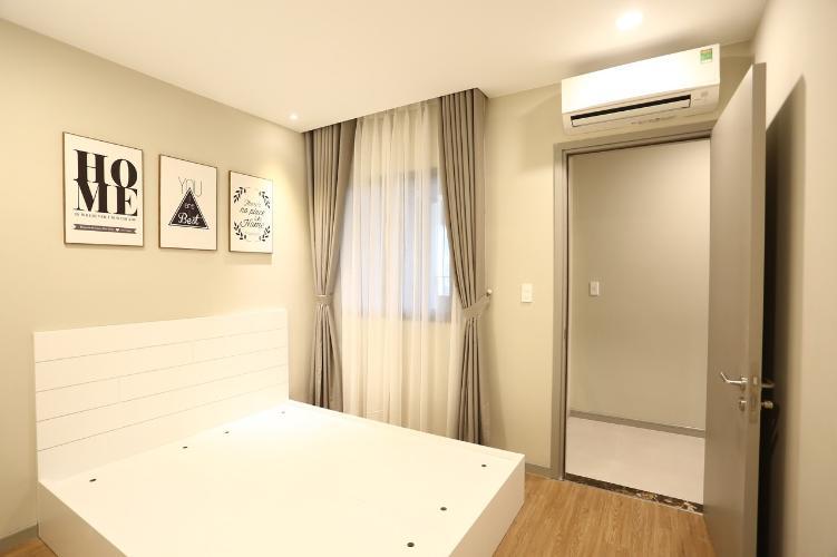 phòng ngủ căn hộ The Gold View Căn hộ The Gold View đầy đủ nội thất sang trọng, view sông mát mẻ.