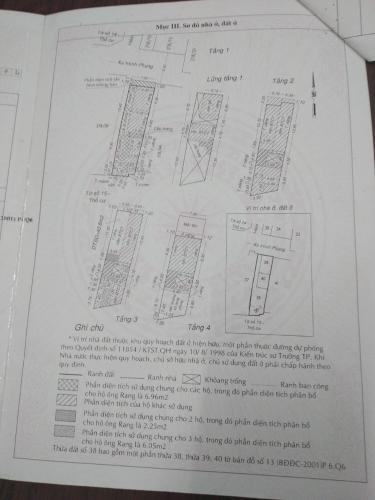 Bản vẽ chung cư Minh Phụng, Quận 6 Căn hộ chung cư Minh Phụng hướng Đông Bắc, nội thất cơ bản.