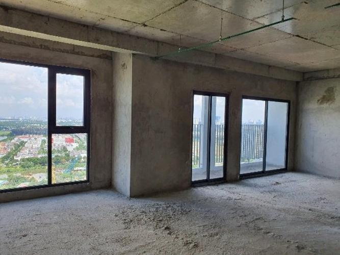 Nhà thô Lavida Plus Office-tel Lavida Plus nội thất cơ bản thuận tiện mở văn phòng.