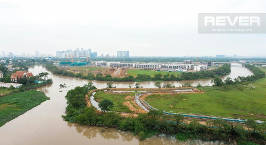 View Căn hộ Homyland 2 tầng trung 3 phòng ngủ view trực diện sông
