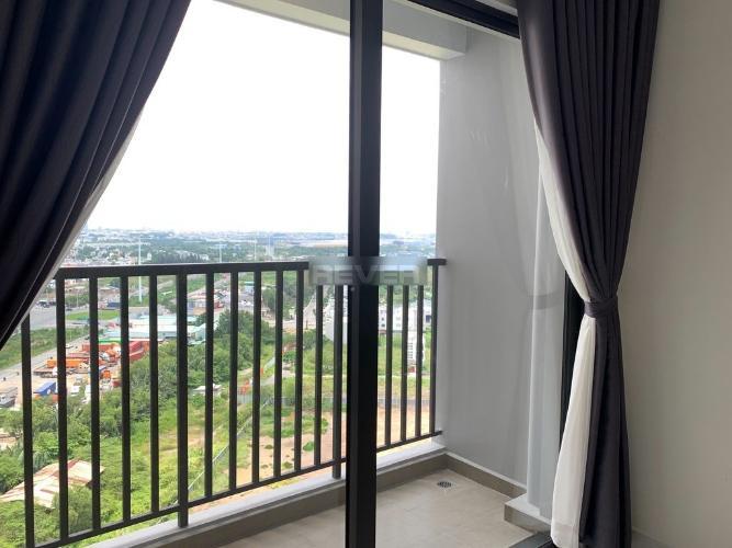 Ban công căn hộ Safira Khang Điền, Quận 9 Căn hộ tầng 17 Safira Khang Điền nội thất cơ bản, view thành phố.