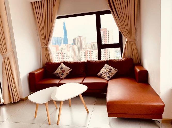 Phòng khách căn hộ New City Thủ Thiêm Căn hộ New City Thủ Thiêm 3 phòng ngủ view nội khu yên tĩnh.