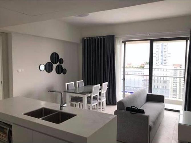 Căn hộ Gateway Thảo Điền tầng trung, đầy đủ nội thất.