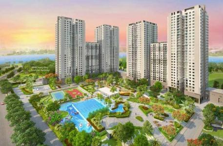 Bán căn hộ Saigon South Residence 2PN tầng 27, diện tích 100m2, Full nội thất, ban công Đông Nam