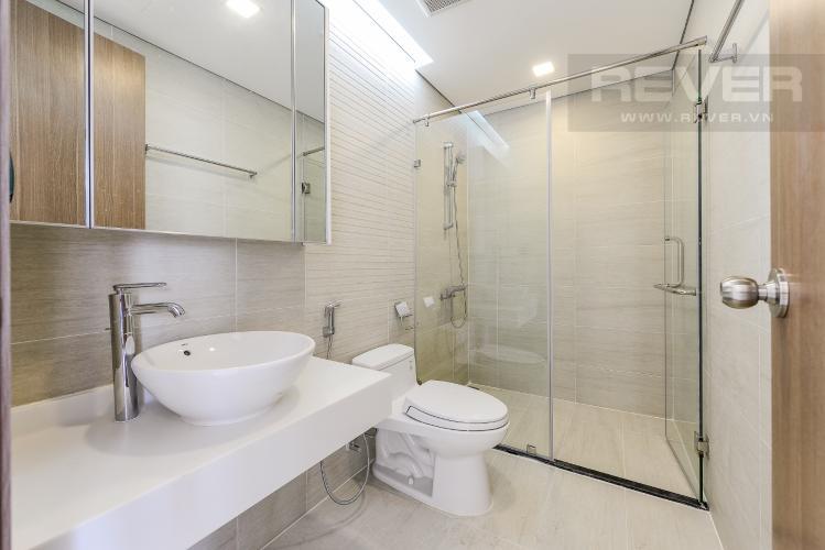 Phòng tắm Officetel Vinhomes Central Park 1 phòng ngủ tầng cao P7 view sông