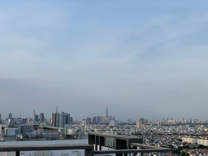 Căn hộ Saigon South Residence ban công hướng Bắc, view thành phố.