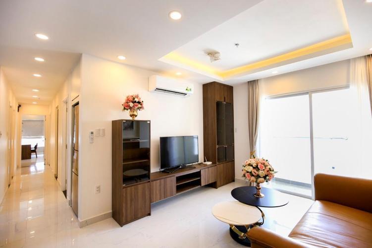 Cho thuê căn hộ tầng cao Terra Royal đầy đủ nội thất hiện đại.