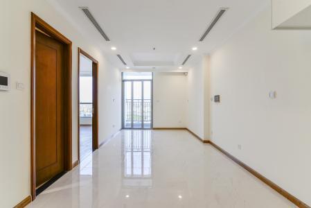Căn hộ Vinhomes Central Park 1 phòng ngủ tầng trung L6 nhà trống
