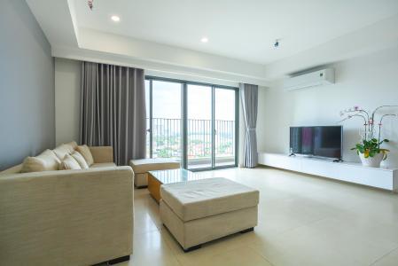 Căn hộ Masteri Thảo Điền 3 phòng ngủ tầng trung T3 đầy đủ nội thất