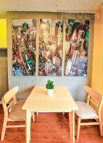Phòng Ăn Cho thuê căn hộ RiverGate Residence 1PN, tầng thấp, tháp B, đầy đủ nội thất, view sông Sài Gòn