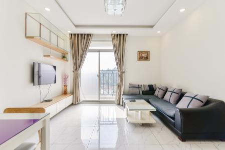 Căn hộ The Art 2 phòng ngủ tầng thấp B2 nội thất đầy đủ
