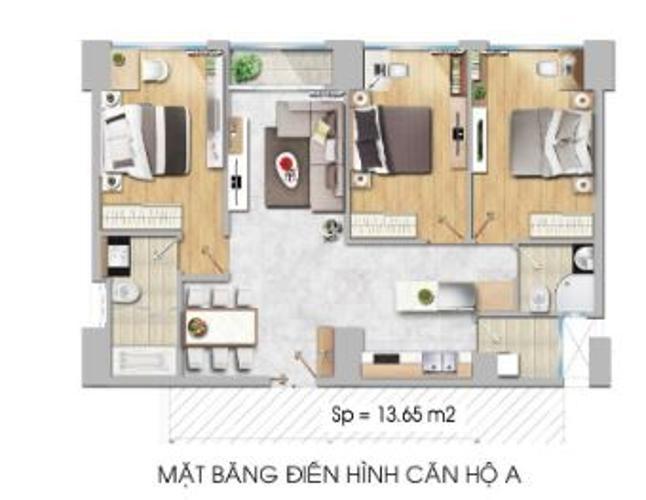 ba-06.12.jpg Bán căn hộ New City Thủ Thiêm 3PN 2WC, nội thất cơ bản, view nội khu