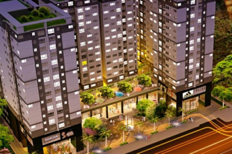 The Hyco4 Tower, Bình Thạnh Căn hộ The Hyco4 tầng  trung, view sông thoáng mát, đầy đủ nội thất.