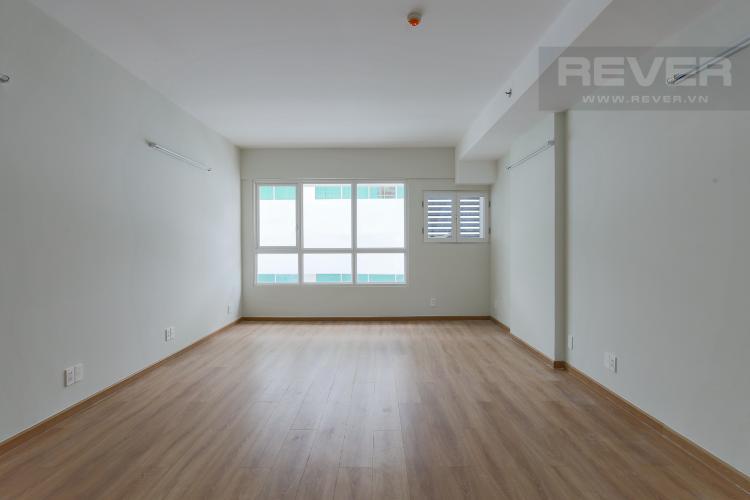 Phòng Khách Officetel Charmington La Pointe 1 phòng ngủ tầng thấp nhà trống