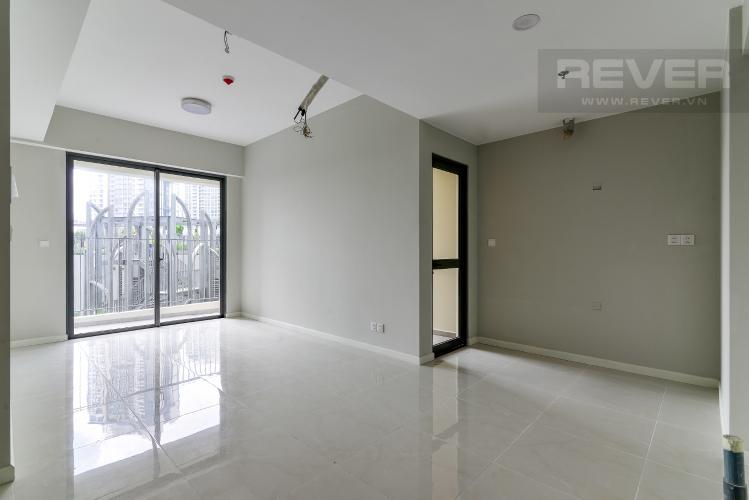 Phòng Khách Cho thuê căn hộ Masteri An Phú 2PN, tầng thấp, tháp A, view hồ bơi nội khu