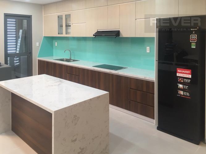 Bếp Bán căn hộ The Gold View 3PN, tầng cao, diện tích 116m2, đầy đủ nội thất