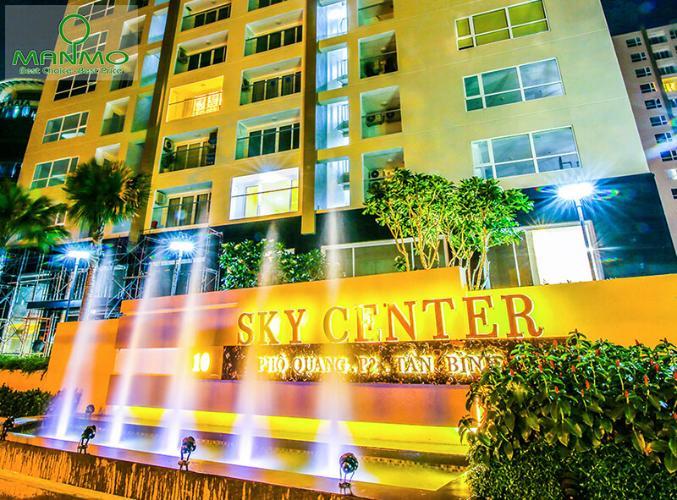 Sky Center, Tân Bình Căn hộ Sky Center tầng thấp ban công hướng Đông, đầy đủ nội thất.