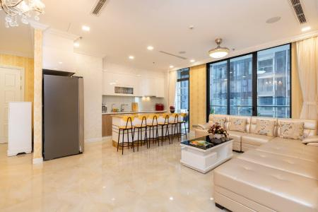 Bán căn hộ Vinhomes Golden River 3PN, diện tích 98m2, đầy đủ nội thất, view sông và thành phố