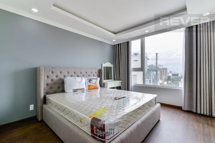 Phòng Ngủ 1 Cho thuê căn hộ tầng cao Léman Luxury Apartments, 2PN, đầy đủ nội thất