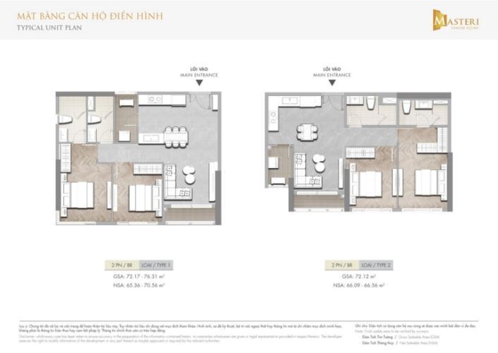 Layout căn hộ Masteri Centre Point , Quận 9 Căn hội Masteri Centre Point tầng 18 view thoáng mát, thiết kế sang trọng.