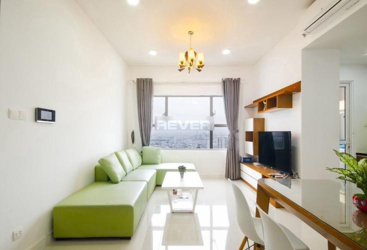 Phòng khách căn hộ Sunrise City  Căn hộ Sunrise City view thành phố cực đẹp, cửa chính hướng Đông.