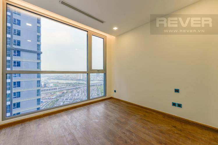Phòng ngủ 2 Căn hộ Vinhomes Central Park 2 phòng ngủ tầng cao P4 view sông