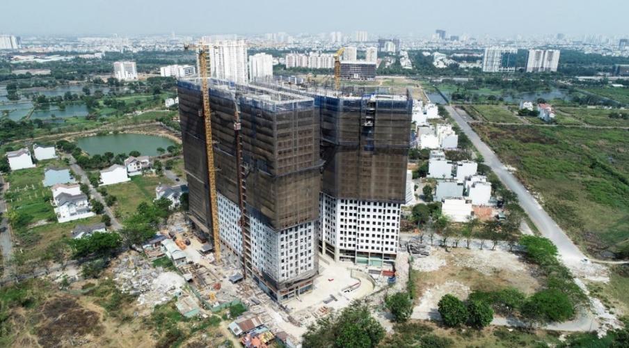 Bán căn hộ Sài Gòn Intela, Bình Chánh, diện tích 50m2 - 2 phòng ngủ, nội thất cơ bản