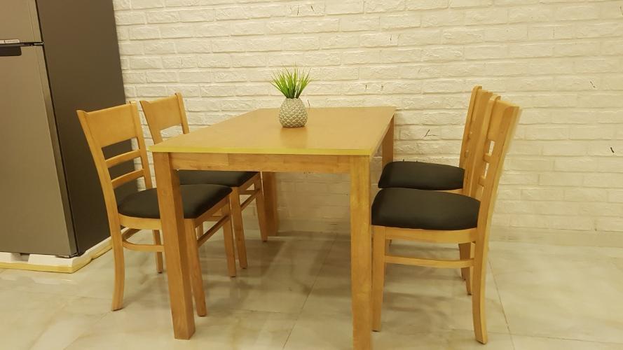 Bàn ăn căn hộ HOMYLAND 2 Cho thuê căn hộ 2 phòng ngủ Homyland 2, tầng 12, diện tích 69m2, đầy đủ nội thất