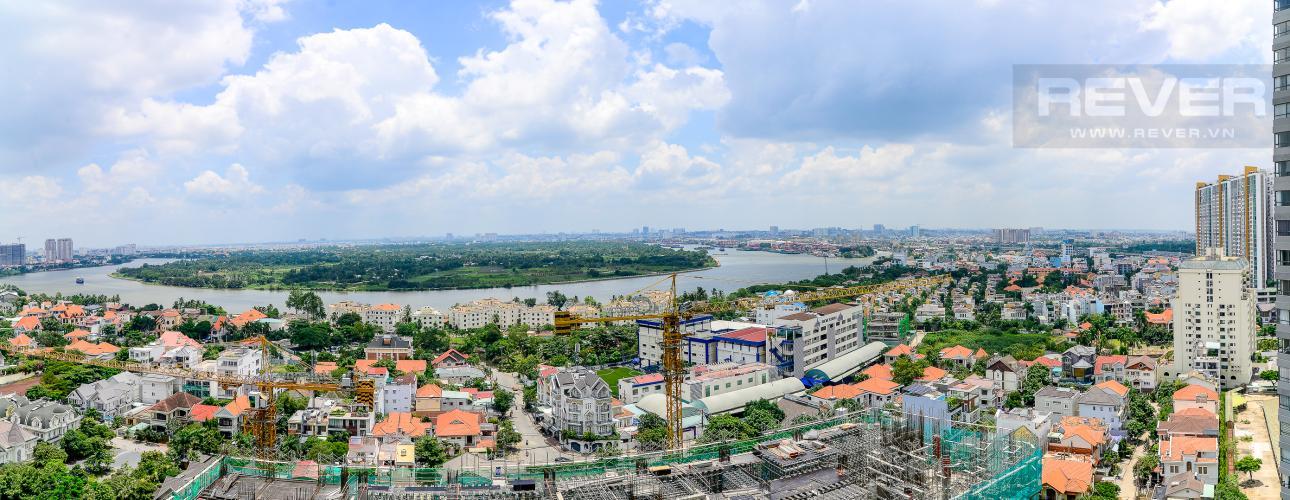 View Cho thuê căn hộ Masteri An Phú, tầng trung, đầy đủ nội thất, view sông thoáng mát