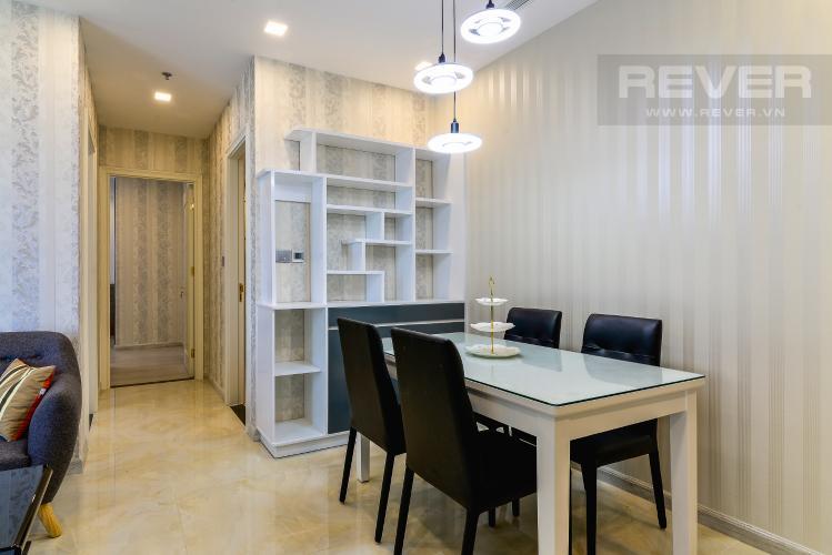 Phòng Ăn Căn hộ Vinhomes Golden River tầng cao, 2PN, bàn giao đầy đủ nội thất