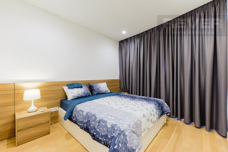 Phòng ngủ 1 Căn hộ City Garden tầng cao, 2PN đầy đủ nội thất, view đẹp