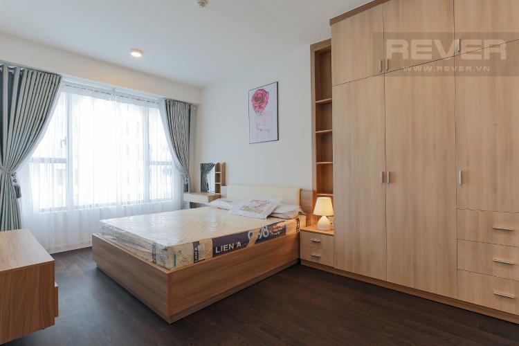 Phòng Ngủ 1 Căn hộ Masteri Millennium tầng trung, 2PN đầy đủ nội thất