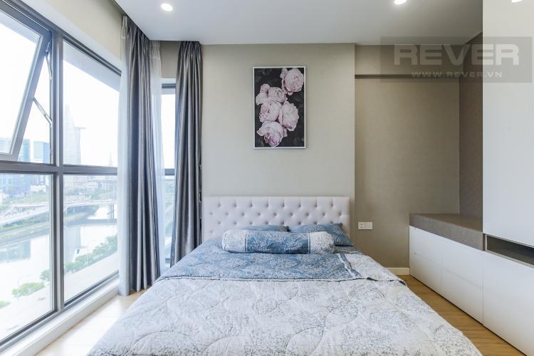 Phòng Ngủ 2 Cho thuê căn hộ Masteri Millennium 3PN, diện tích 107m2, đầy đủ nội thất, view Bitexco