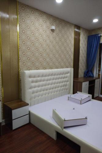 Phòng ngủ Homyland Riverside, Quận 2 Căn hộ Homyland Riverside tầng cao, cửa chính hướng Đông Nam.