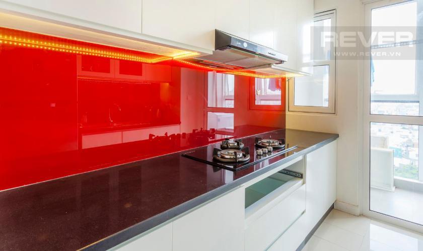 Bếp Căn hộ Sunrise City 2 phòng ngủ tầng thấp V4 đầy đủ nội thất