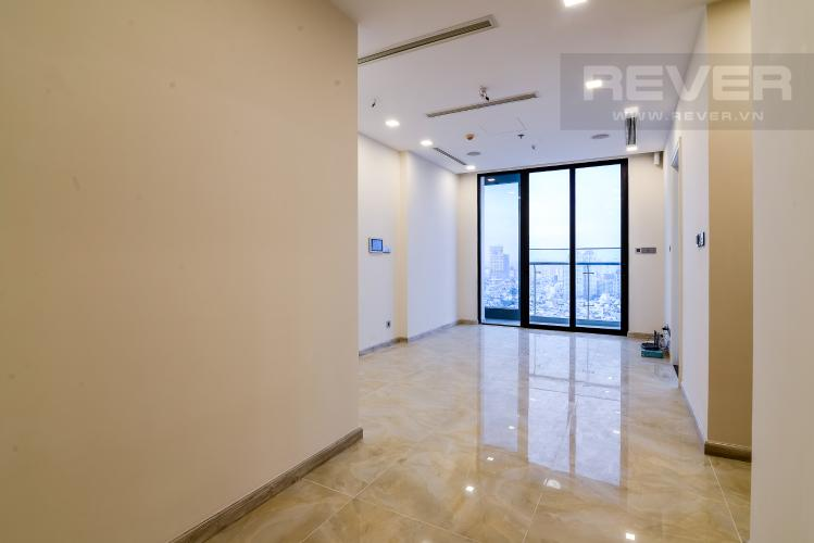 Phòng Khách Officetel Vinhomes Golden River 2 phòng ngủ tầng cao A4 hướng Đông Bắc