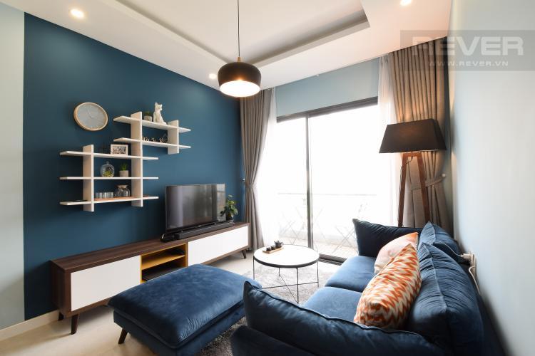 Phòng Khách Cho thuê căn hộ New City Thủ Thiêm tầng thấp, 2PN, đầy đủ nội thất
