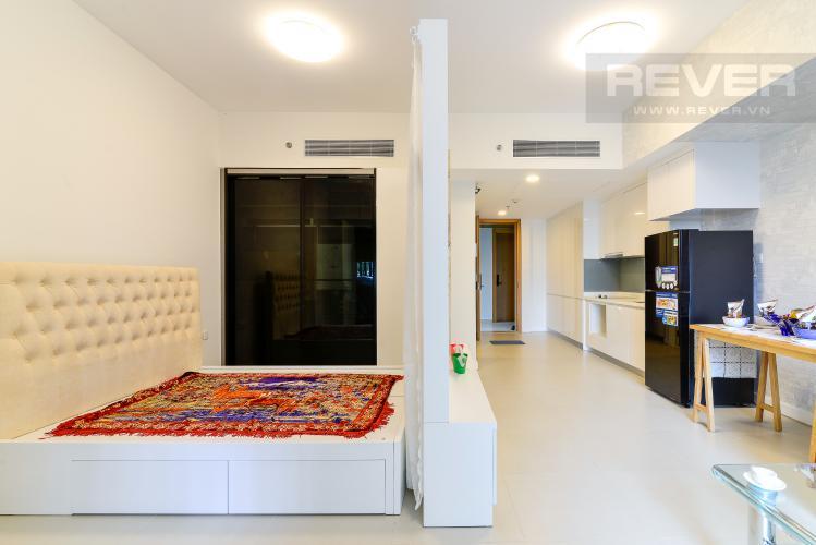 Phòng Ngủ Bán hoặc cho thuê căn hộ Gateway Thảo Điền 1PN, diện tích 49m2, đầy đủ nội thất, view sân chơi