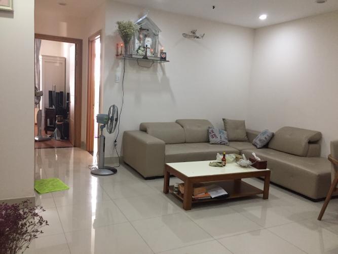 Căn hộ Him Lam Riverside nội thất cơ bản, thiết kế hiện đại.