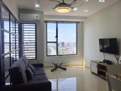 Cho thuê căn hộ RiverGate Residence 1PN, tháp A, đầy đủ nội thất, view thoáng
