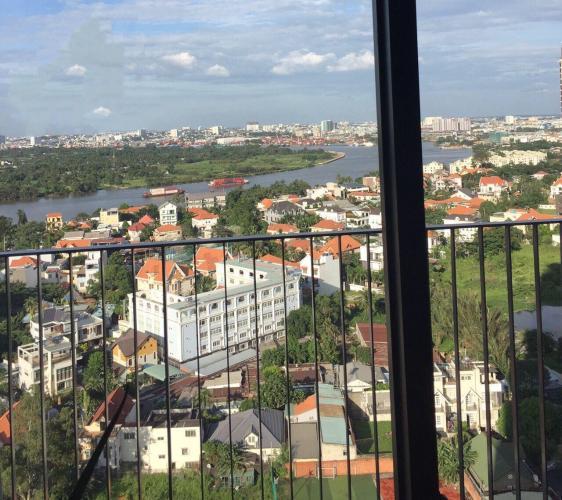 View căn hộ Masteri Thảo Điền Quận 2 Căn hộ Masteri Thảo Điền tầng cao, view sông và biệt thự.
