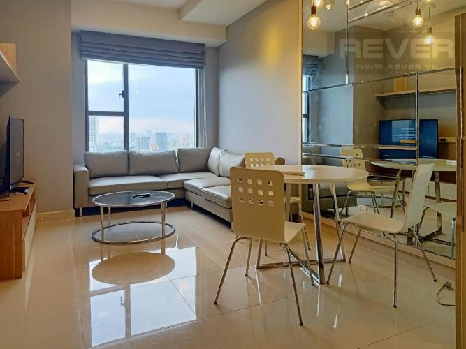 Cho thuê căn hộ RiverGate Residence 1PN, tháp A, đầy đủ nội thất, view kênh Bến Nghé và thành phố