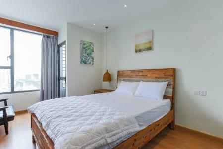 Căn hộ RiverGate Residence 1 phòng ngủ tầng trung tháp B nội thất đơn giản