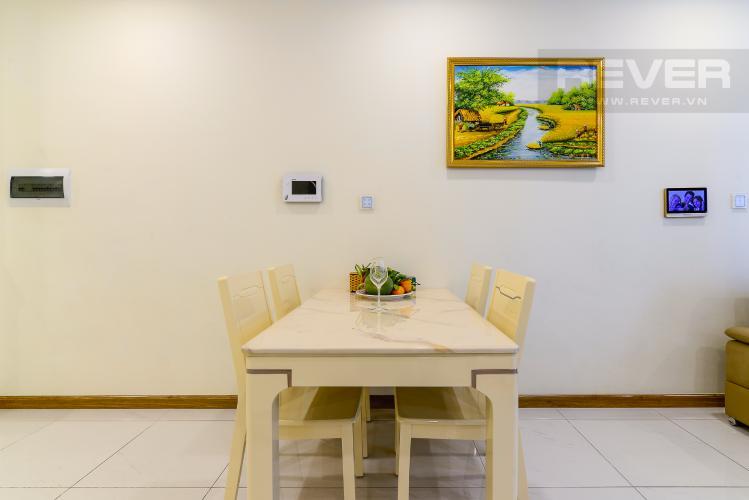 Phòng Ăn Cho thuê căn hộ Vinhomes Central Park 50.5m2 1PN 1WC, nội thất tiện nghi, view hồ bơi
