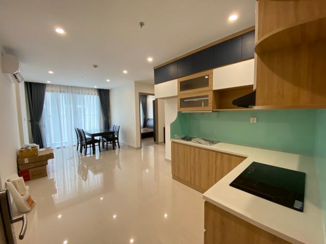 phòng khách  Căn hộ Vinhomes Grand Park tầng thấp đón view nội khu.