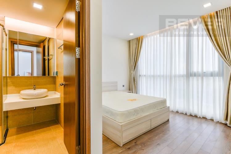 Phòng ngủ 1 Cho thuê căn hộ Vinhomes Central Park tầng trung, 2PN, đầy đủ nội thất, view đẹp